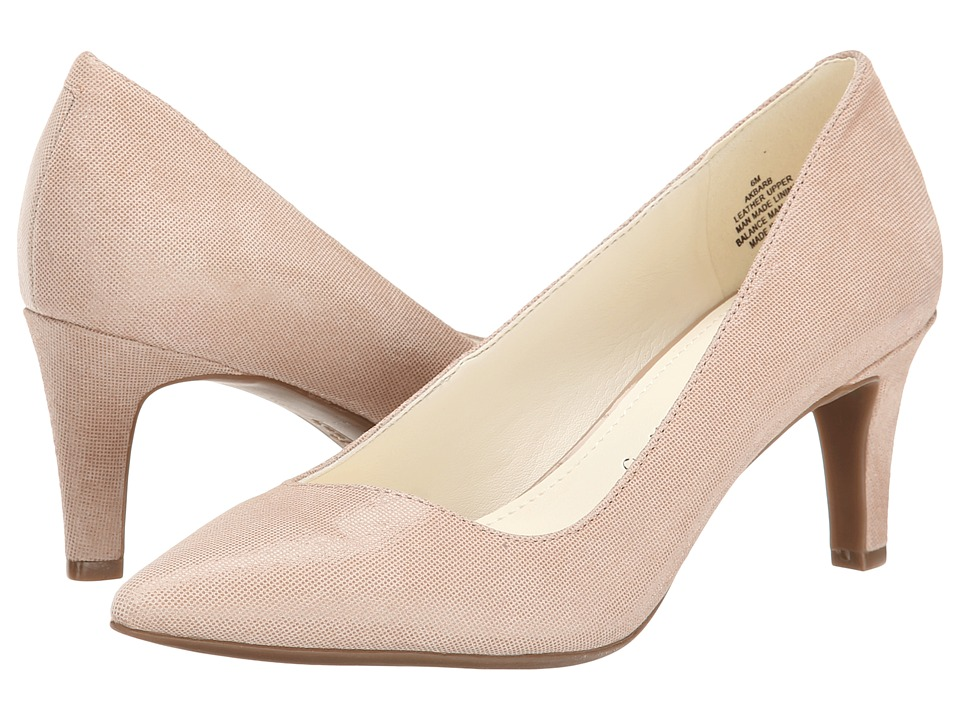 Anne Klein Barb (Light Natural Twinkle Leather) High Heels