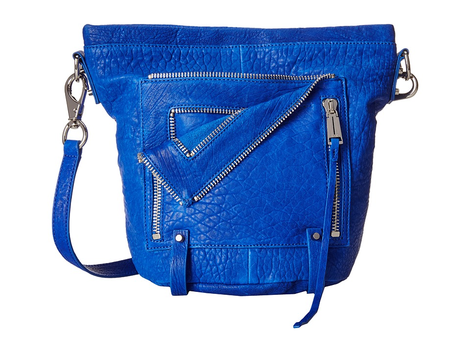 She + Lo - Let It Ride Bucket (Electric Blue) Drawstring Handbags
