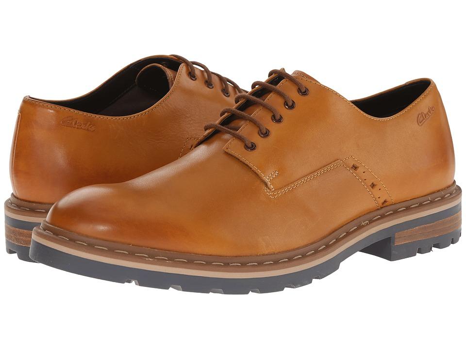 Clarks - Dargo Walk (Tan Leather) Men