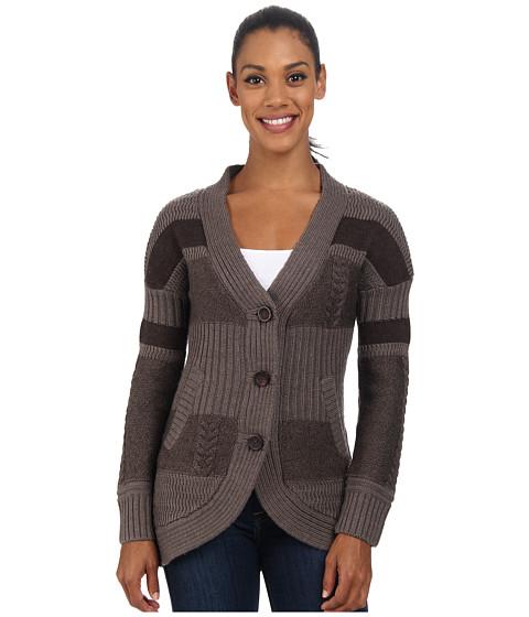 Smartwool - Meran Long Cardigan (Chocolate Heather) Women's Sweater