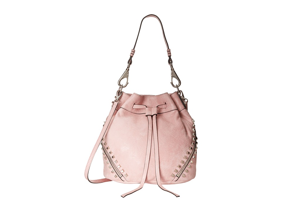 She + Lo - Make Your Mark Drawstring (Crystal Pink) Drawstring Handbags