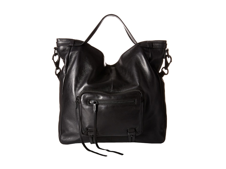 She + Lo - No Regrets Convertible (Black) Drawstring Handbags