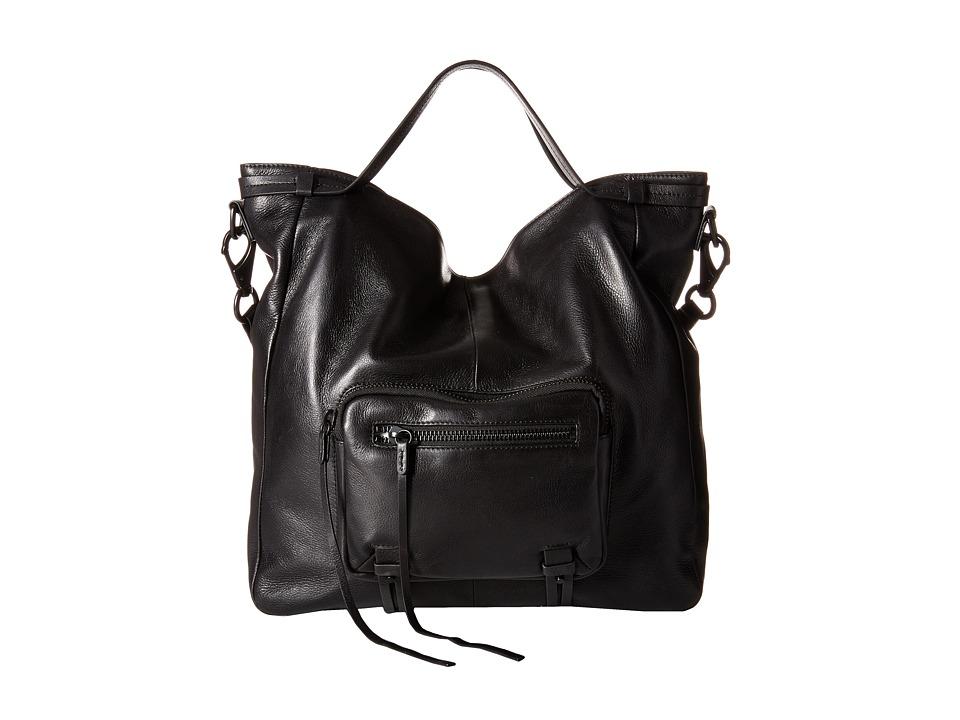 She + Lo - No Regrets Convertible (Black) Drawstring Handbags