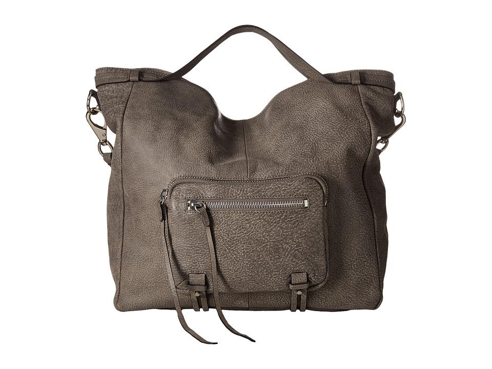 She + Lo - No Regrets Convertible (Charcoal) Drawstring Handbags