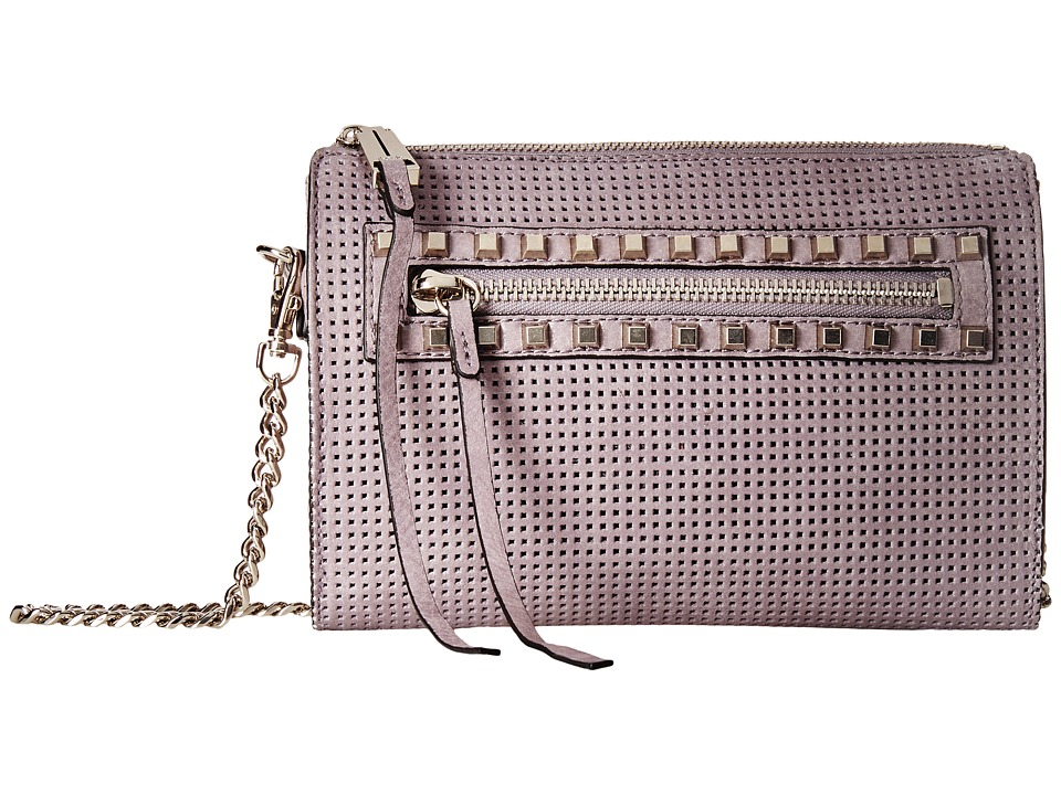 She + Lo - Make Your Mark Mini Crossbody (Lilac Perf) Cross Body Handbags