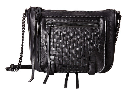 She + Lo - Take A Chance Zip Crossbody (Black) Cross Body Handbags