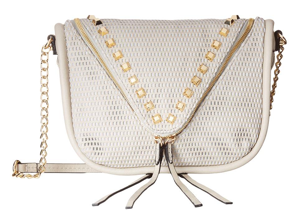 She + Lo - Next Chapter Zip Crossbody (Dove Perf) Cross Body Handbags