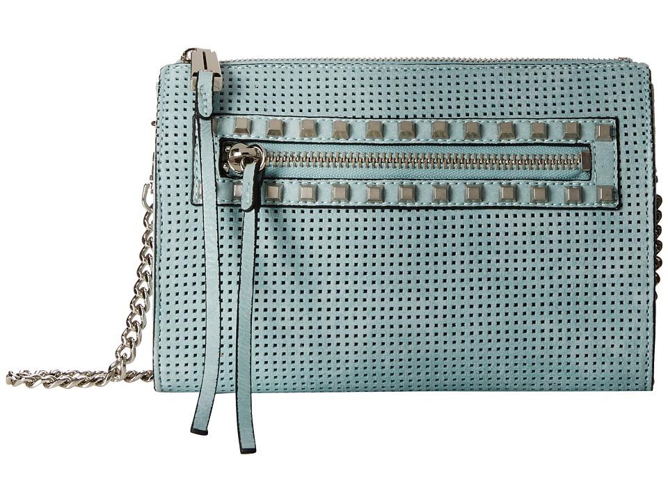 She + Lo - Make Your Mark Mini Crossbody (Mint Perf) Cross Body Handbags