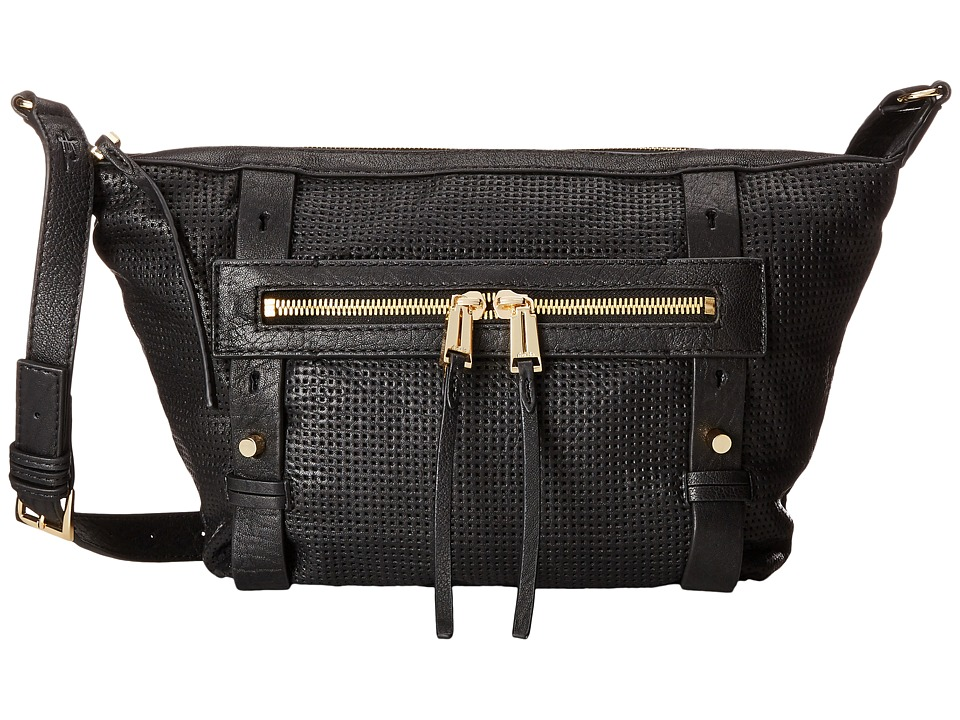 She + Lo - Rise Above Crossbody (Black Perf) Cross Body Handbags