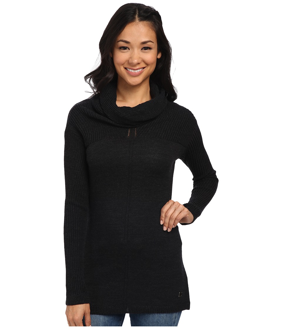 Smartwool - Larkslope Tunic (Charcoal Heather) Women's Sweater