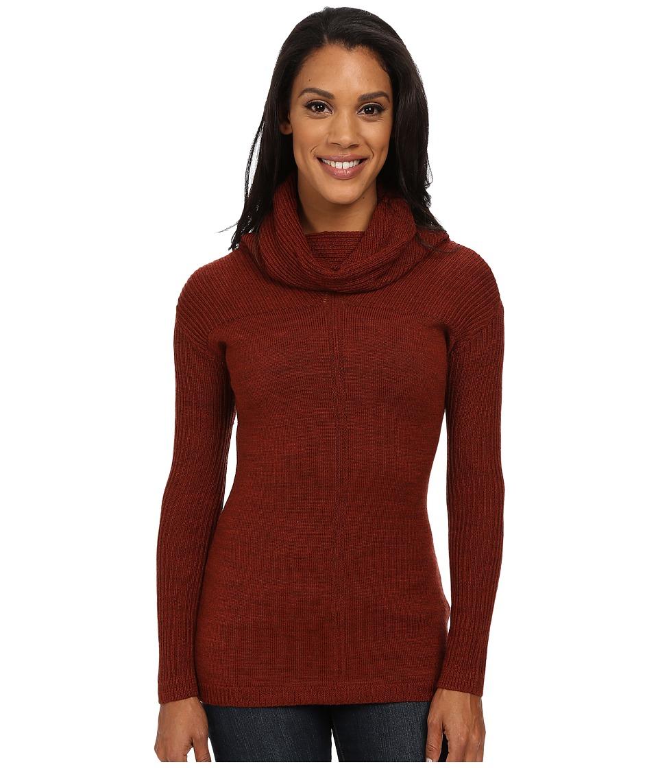 Smartwool - Larkslope Tunic (Cinnamon Heather) Women