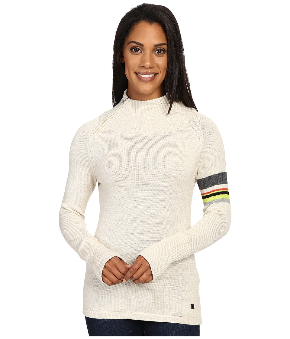 Smartwool Isto Sport Sweater (Natural Heather) Women