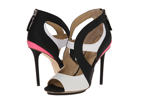 GX By Gwen Stefani - Dart (Black/White) High Heels