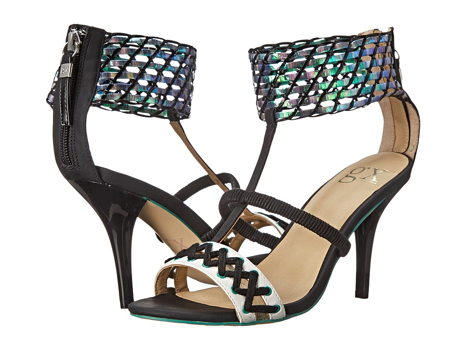 GX By Gwen Stefani - Drag (Black/Black/Green) High Heels