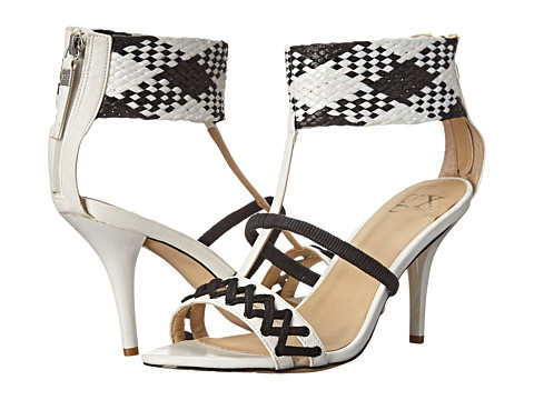 GX By Gwen Stefani - Drag (White/White/Black) High Heels