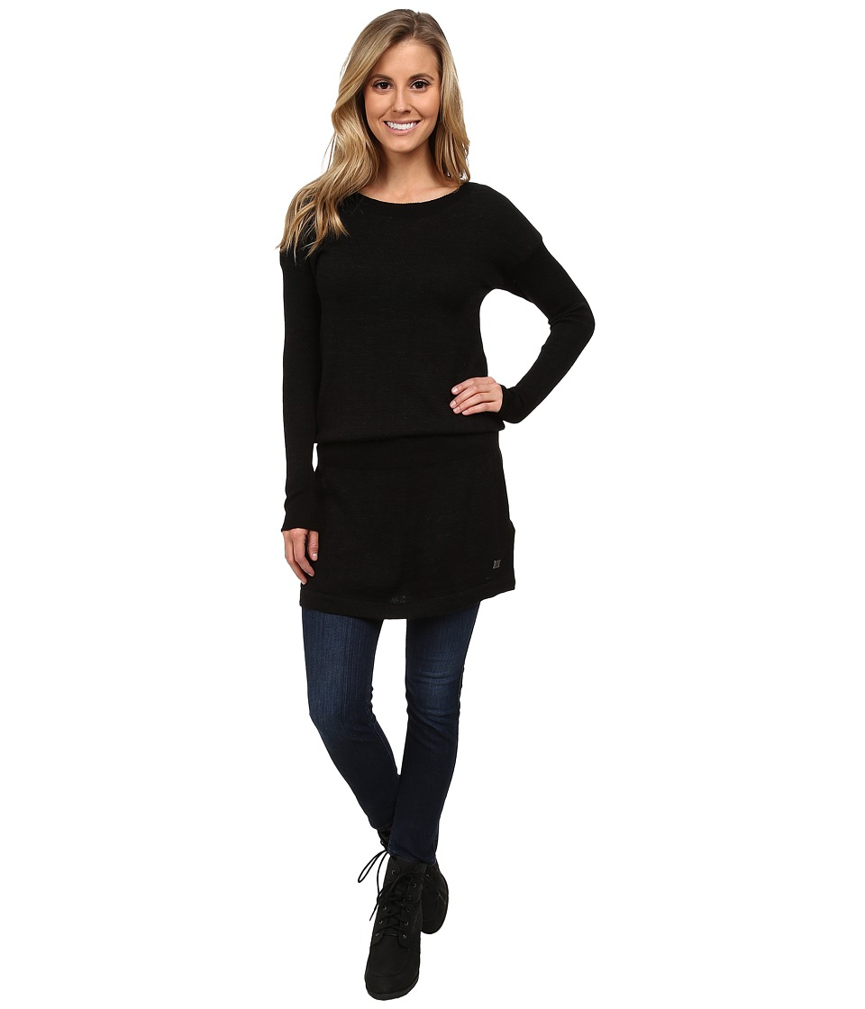 Smartwool Tabaretta Sweater Dress (Charcoal Heather) Women