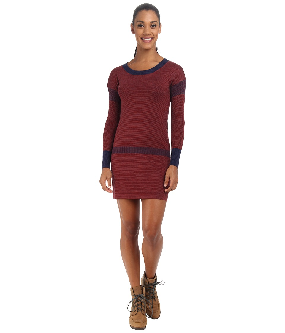 Smartwool Tabaretta Sweater Dress (Ink Heather) Women