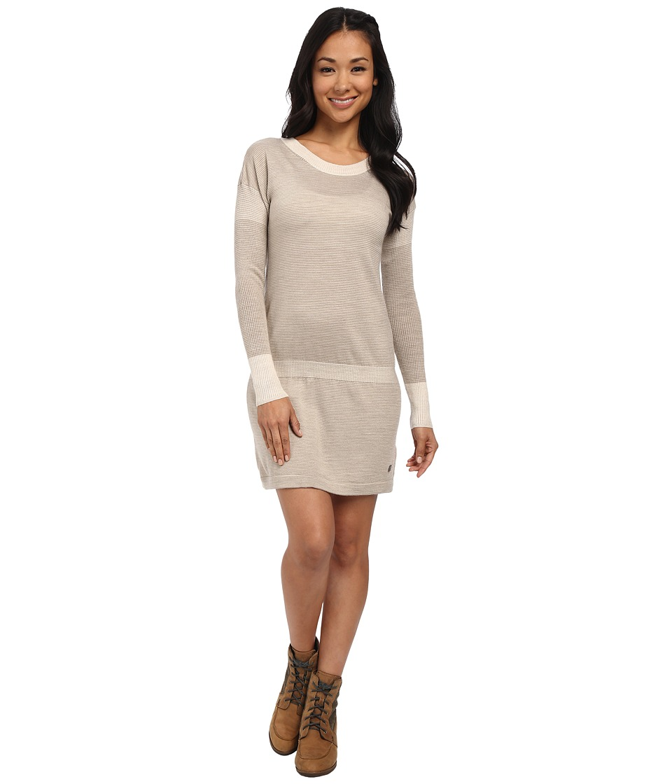 Smartwool Tabaretta Sweater Dress (Oatmeal Heather) Women