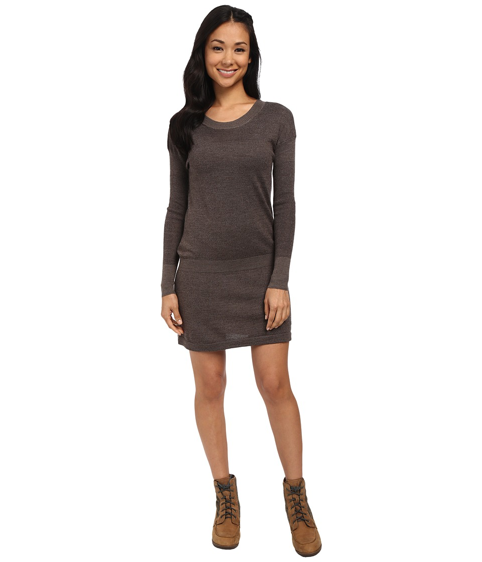 Smartwool Tabaretta Sweater Dress (Chocolate Heather) Women