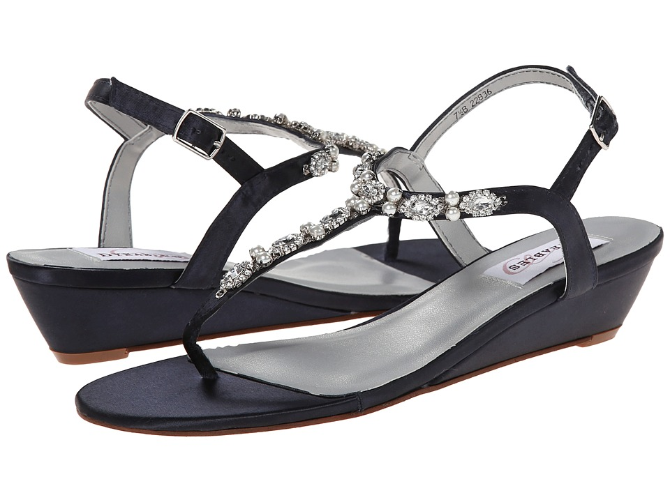 Touch Ups - Myra (Dark Navy) Women's Sandals