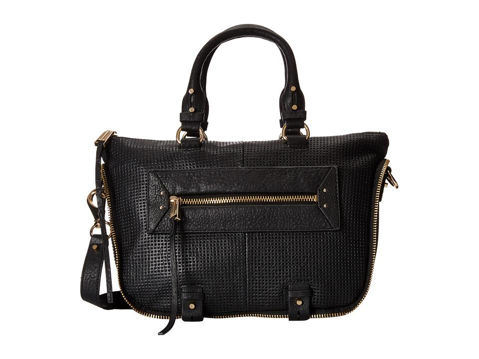 She + Lo - Rise Above Mini Satchel (Black Perf) Satchel Handbags