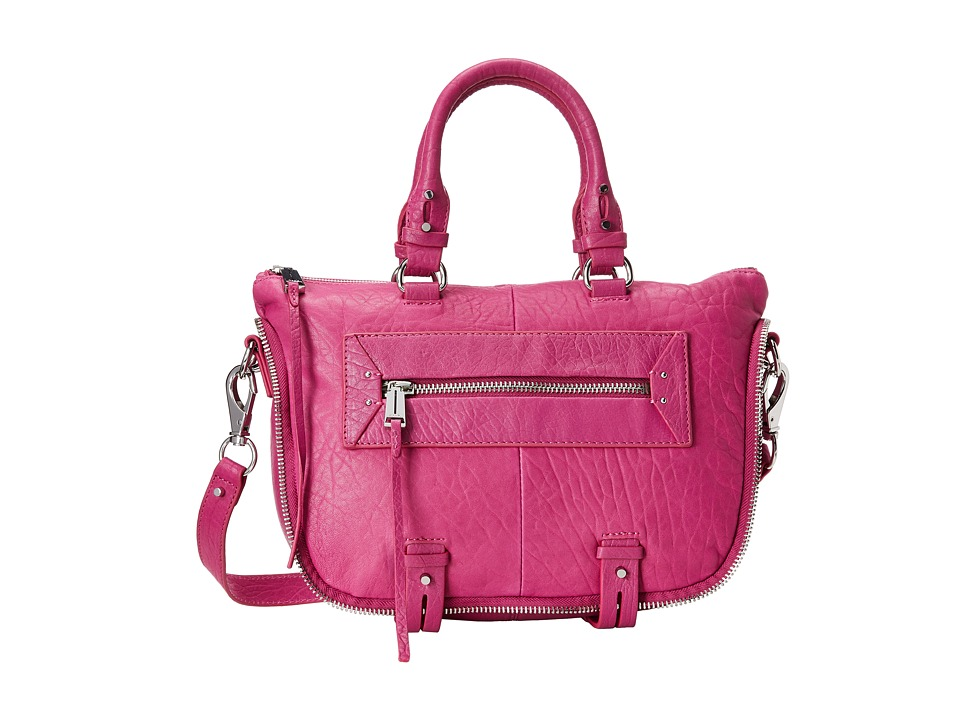 She + Lo - Rise Above Mini Satchel (Fuchsia) Satchel Handbags