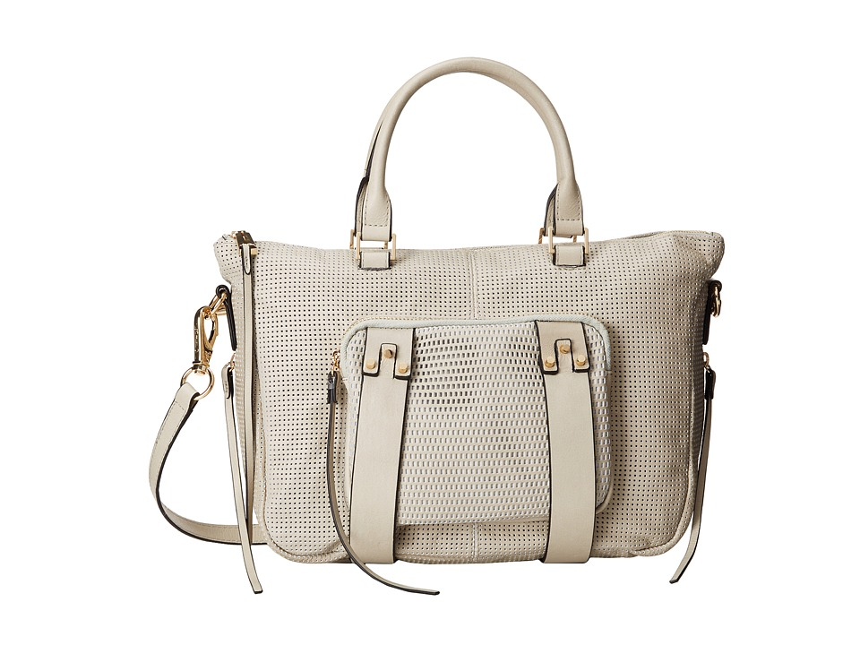 She + Lo - Next Chapter Mini Satchel (Dove Perf) Satchel Handbags