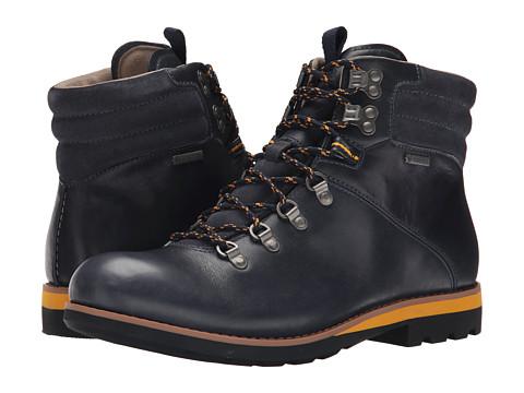 Clarks - Padley Alp GTX (Dark Blue Leather) Men
