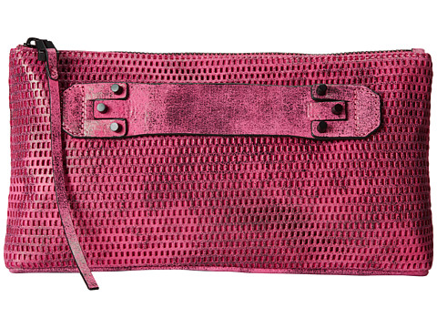 She + Lo - Next Chapter Clutch (Fuchsia/Black Perf) Clutch Handbags