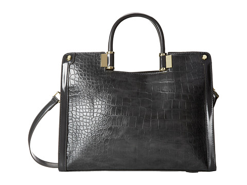 Ivanka Trump Rose Satchel (Charcoal) Satchel Handbags