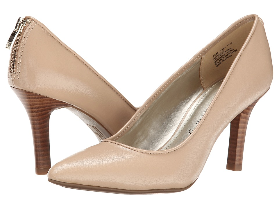 Anne Klein Falicia (Light Natural Leather) High Heels