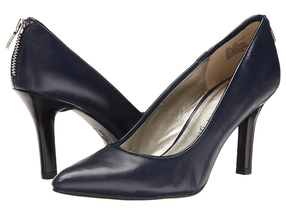 Anne Klein Falicia (Navy Leather) High Heels