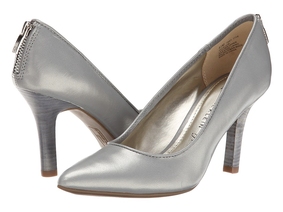 Anne Klein Falicia (Grey Leather) High Heels