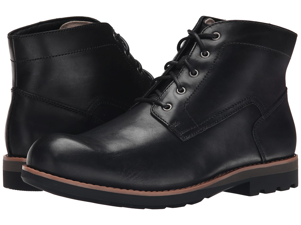 Clarks - Padley Mid (Black Warm Lined Leather) Men