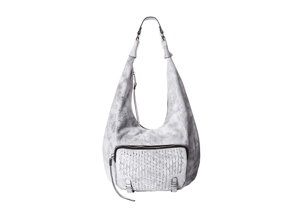 She + Lo - Take A Chance Hobo (Black/White) Hobo Handbags
