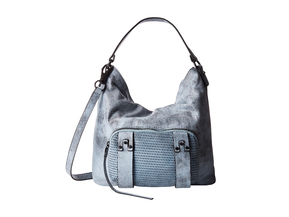 She + Lo - Next Chapter Hobo (Blue/Black Perf) Hobo Handbags