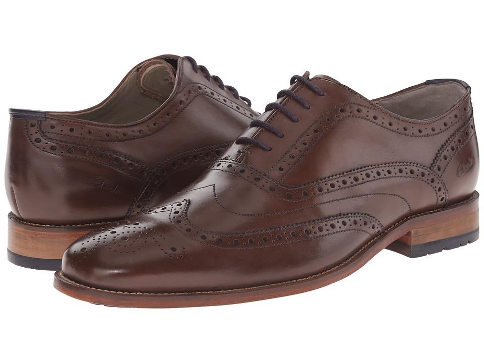Clarks - Penton Limit (Chestnut Leather) Men