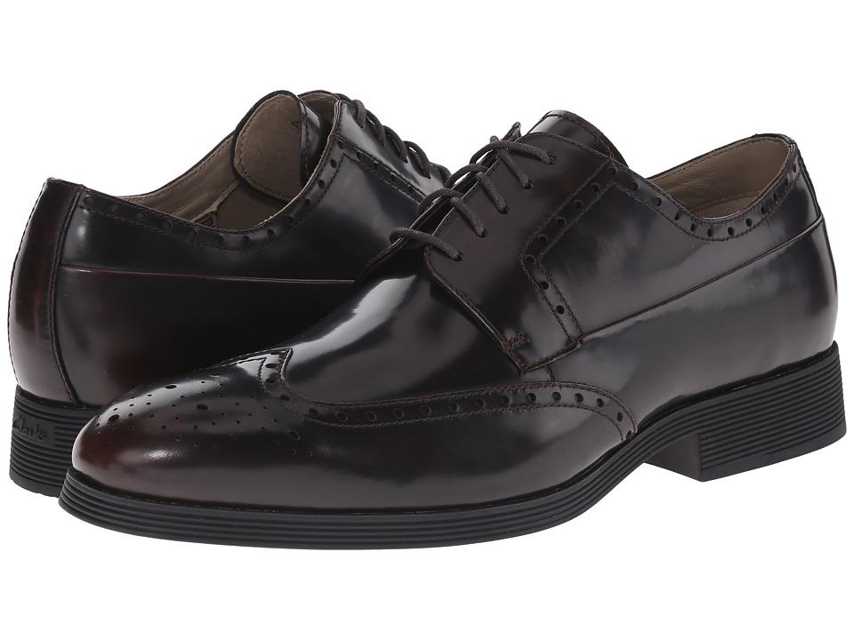 Clarks - Gabwell Limit (Chestnut Leather) Men