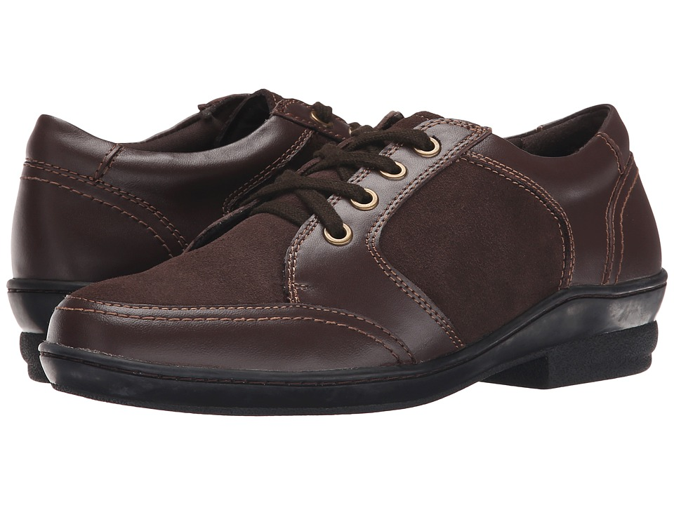 David Tate - Helen (Brown Soft Calf/Suede) Women's Lace up casual Shoes
