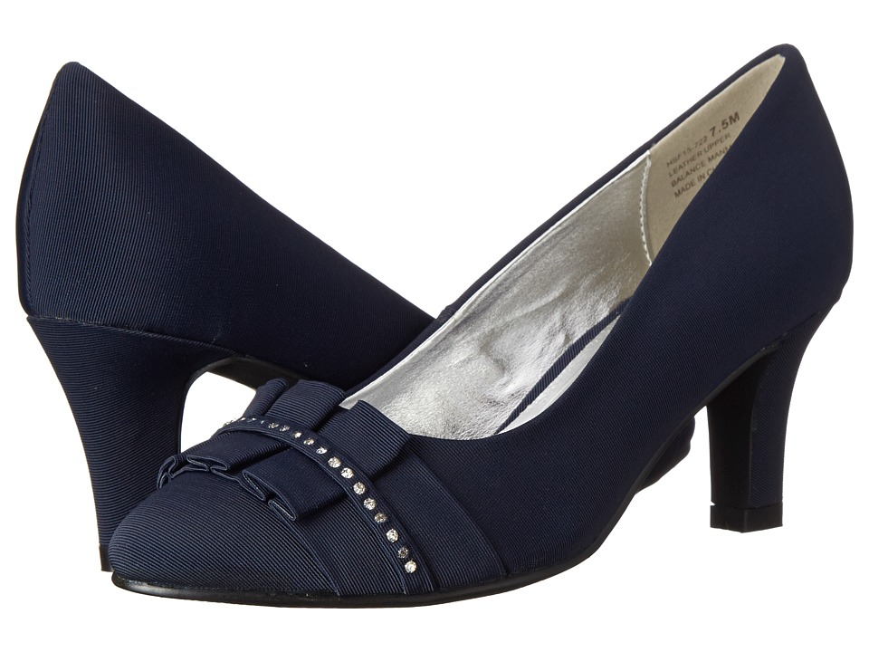 David Tate - Stardust (Navy) High Heels