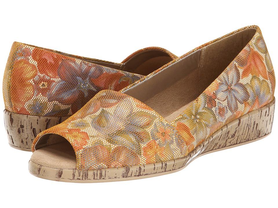Aerosoles - Sprig Break (Bone Floral Leather) Women's Shoes