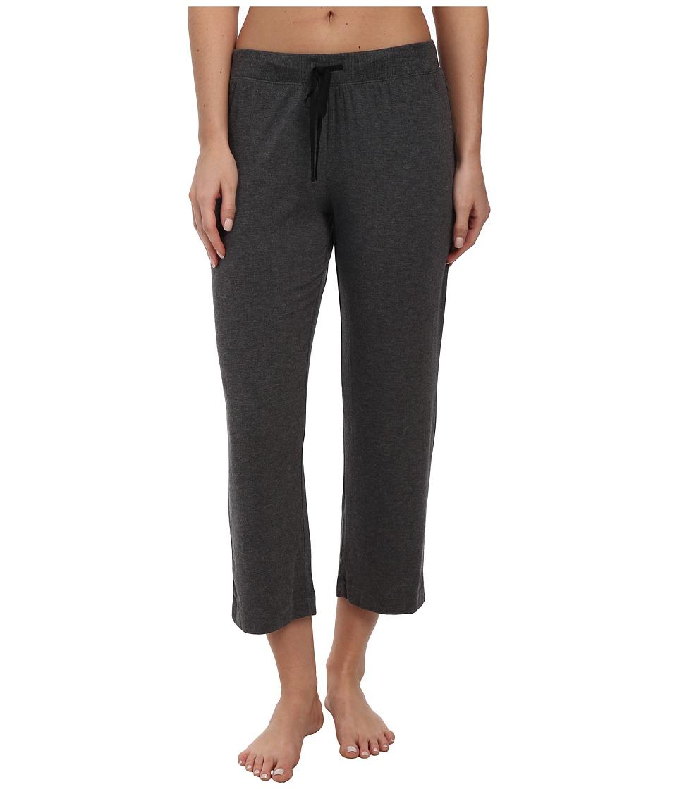 DKNY - Urban Essentials Capris (Heather Charcoal) Women's Pajama