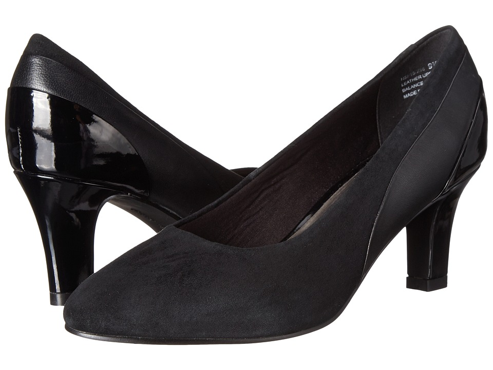 David Tate Sexy (Black Kid/Suede/Patent) High Heels