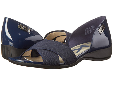 Anne Klein - Karol (Navy Elastic) Women's Sandals