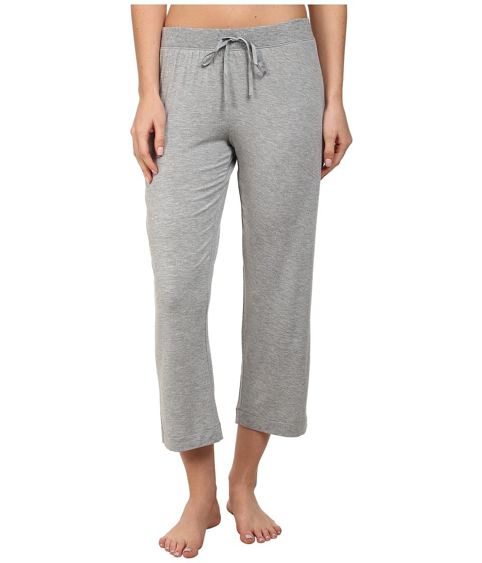 DKNY - Urban Essentials Glamour Capris (Heather Grey) Women's Pajama