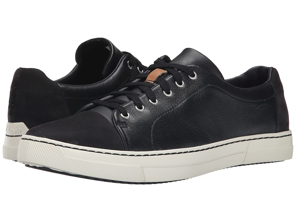 Clarks - Ballof Walk (Black Leather) Men