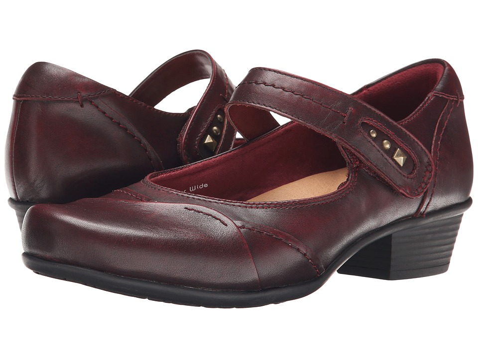 Earth - Clover (Bordeaux Brush Off Leather) Women's Shoes