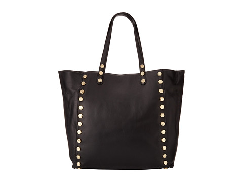 Ivanka Trump - Leather Soft Shopper (Onyx) Handbags