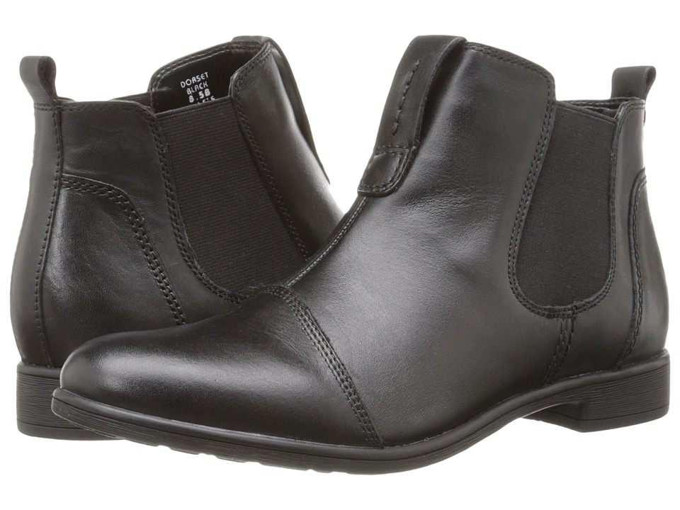 Earth - Dorset (Black Calf Leather) Women