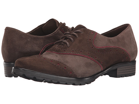 Earth - Berlin Earthies (Dark Brown Suede) Women's Shoes